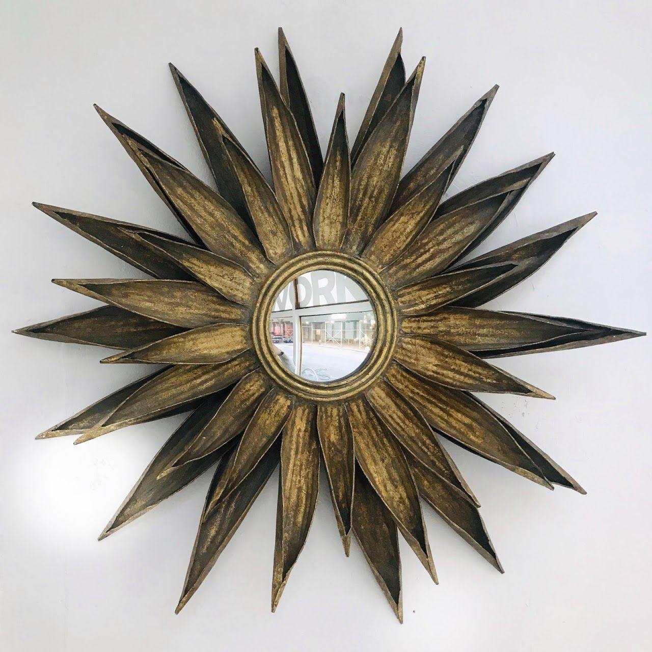 Mid-Century Modern Sunburst Mirror | Shophousingworks ...