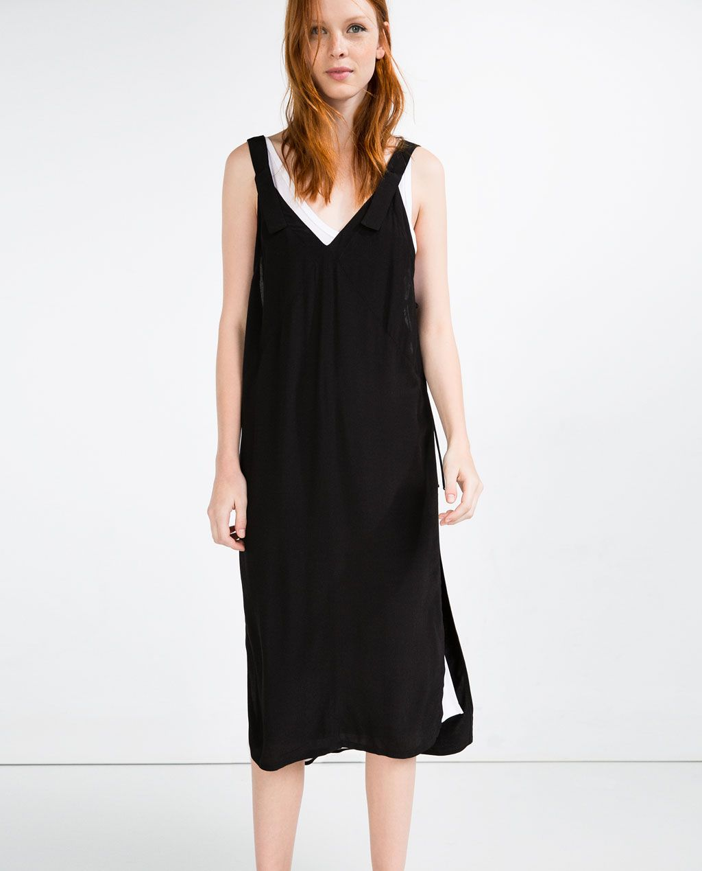 double layer dress - view all - dresses - woman | kleider