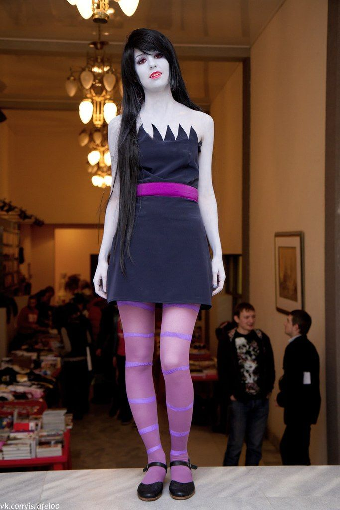 Marceline; great cosplay! | Marceline cosplay, Adventure ...