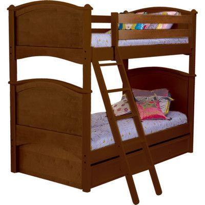 Viv Rae Joey Twin Futon Bunk Bed Finish Toddler Bed Frame