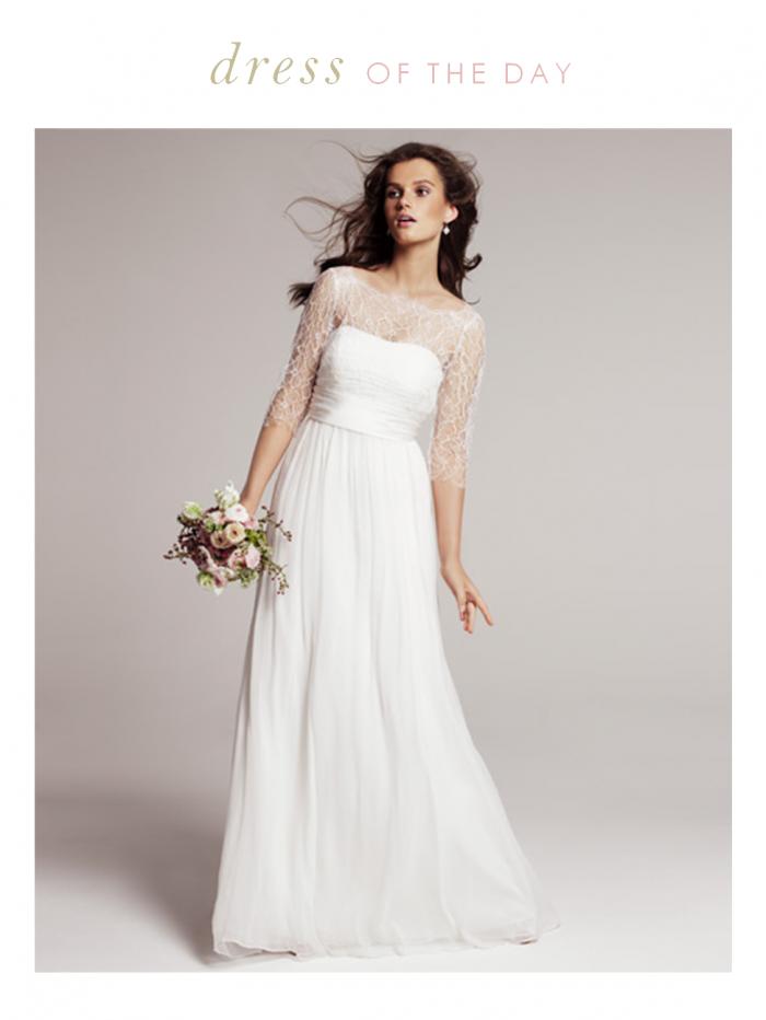 6c5277f7968 Wedding Dress of the Day   Rowan by Jenny Yoo