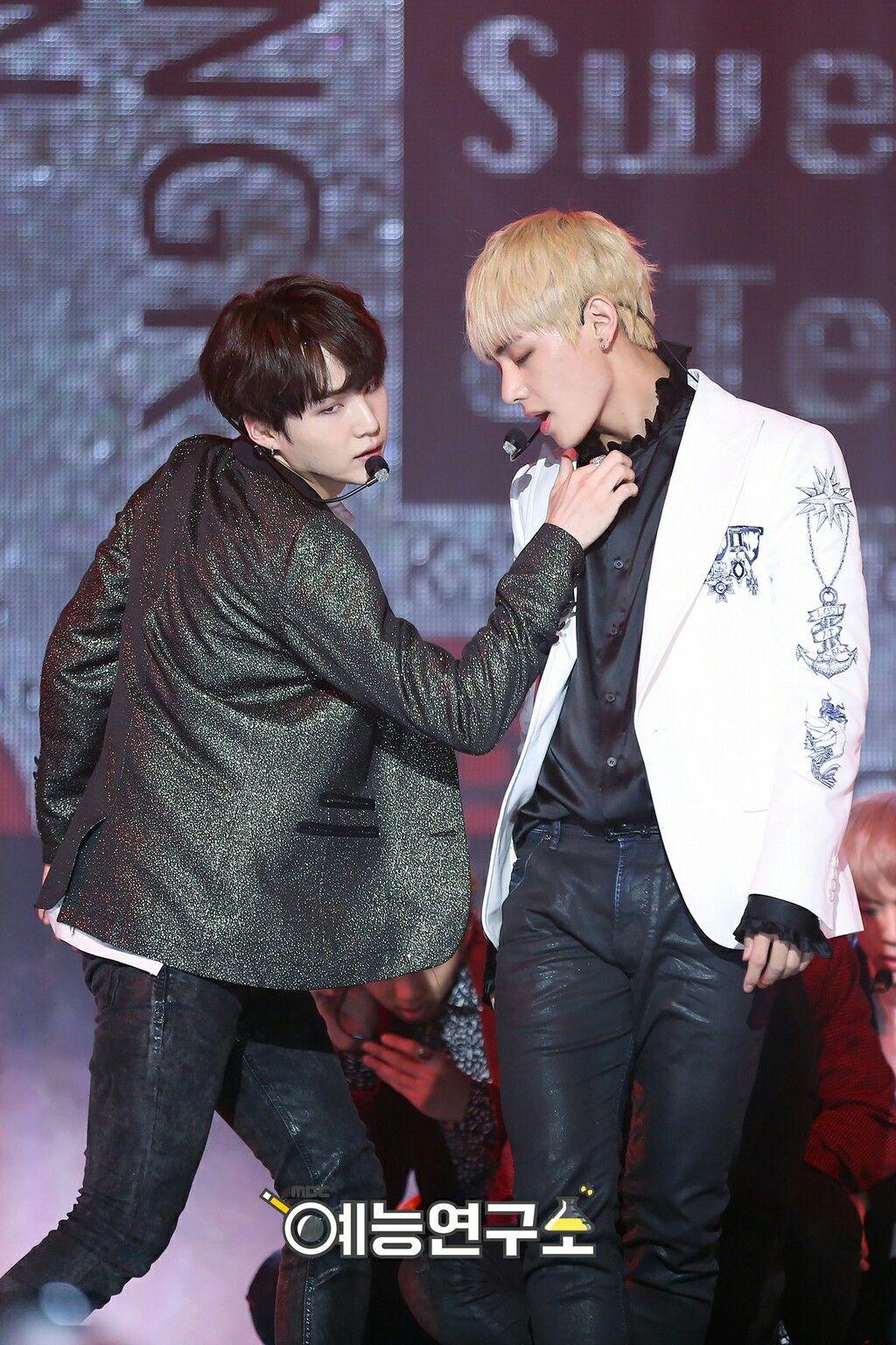 161029 Blood Sweat Tears Live Taegi Bts Yoongi Bts Boys