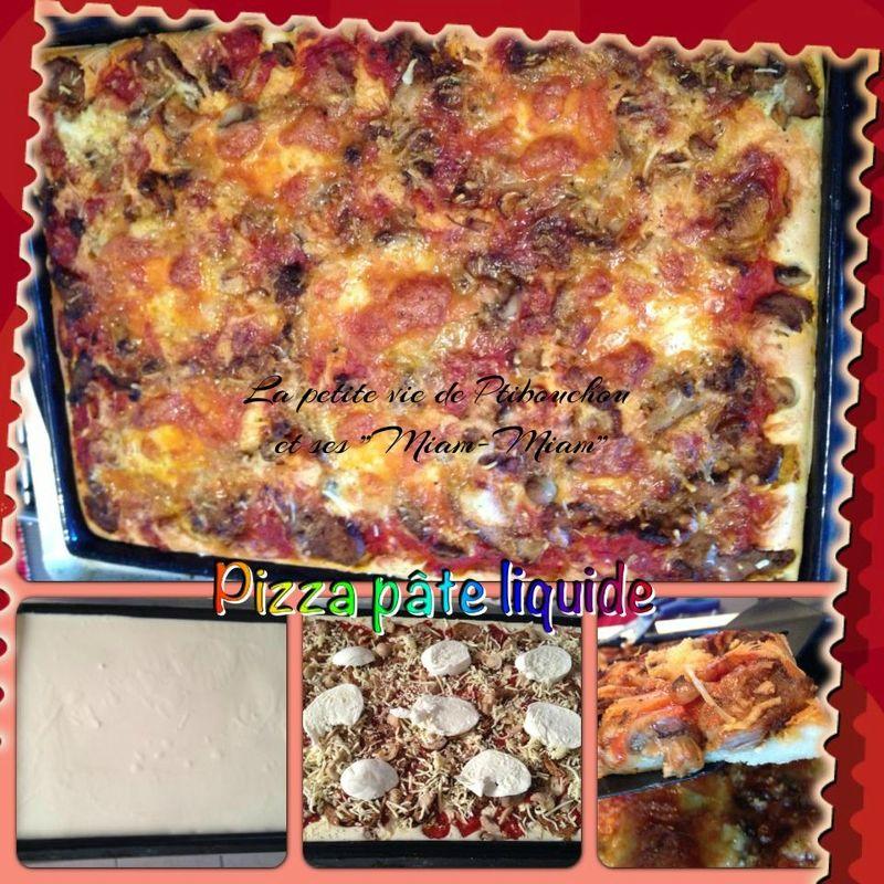 Pâte A Pizza Liquide - Ptibouchou Et Ses