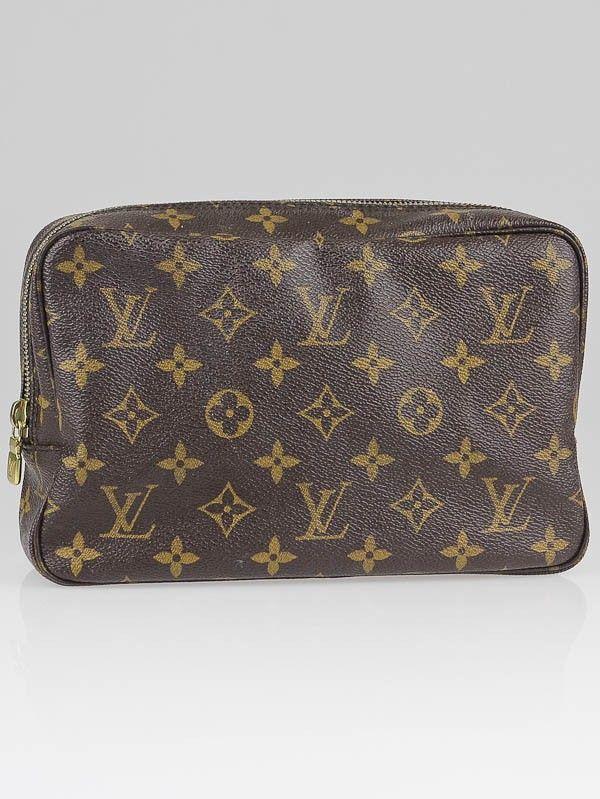 Louis Vuitton Monogram Canvas Trousse Toilette 24 Cosmetic Bag Accessories Lvn130618t Louis Vuitton Louis Vuitton Accessories Used Louis Vuitton