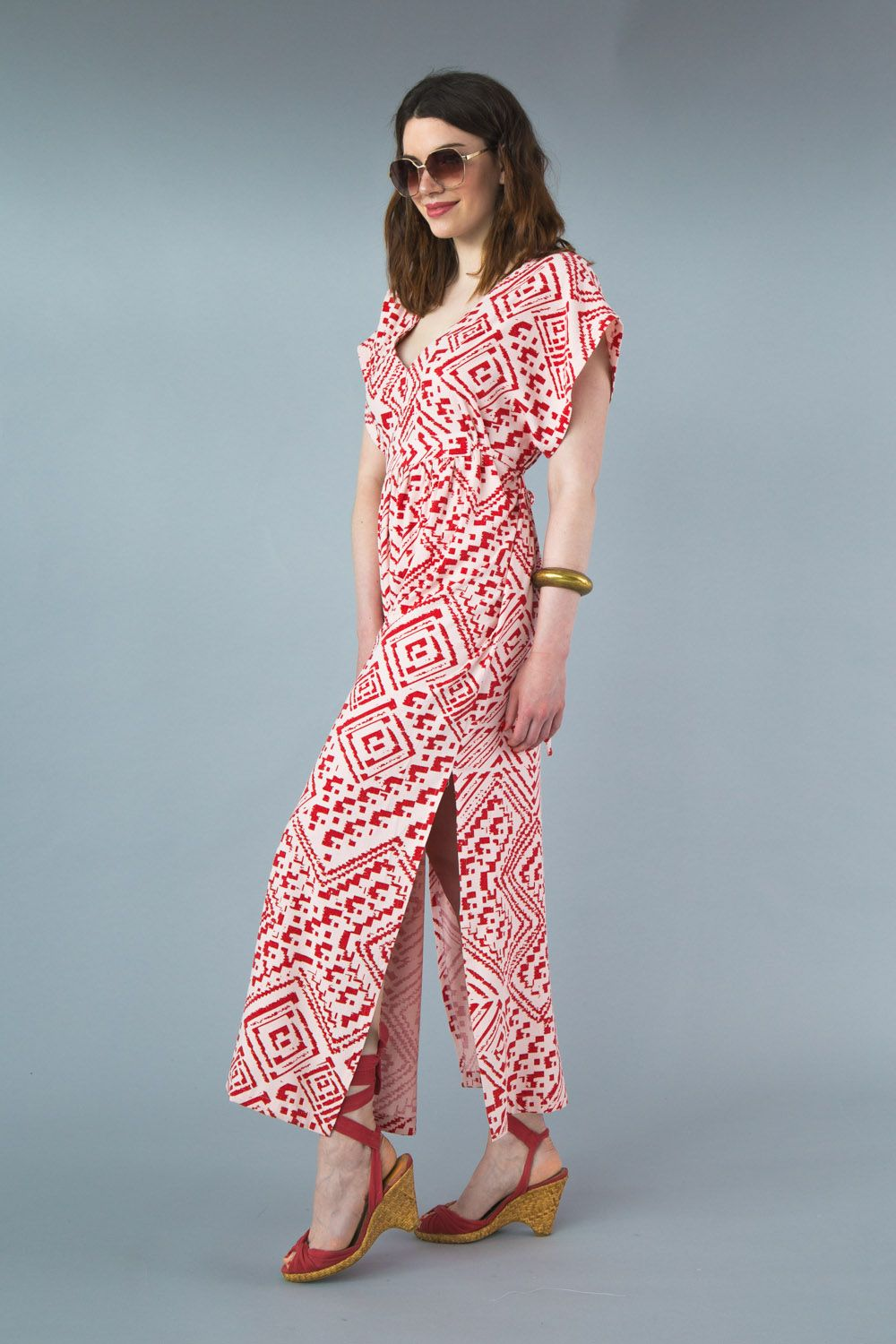 Welcome Summer with our Charlie Caftan Pattern