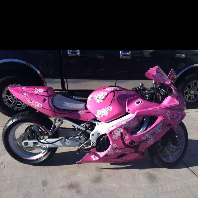 Pink sports bike | My ...