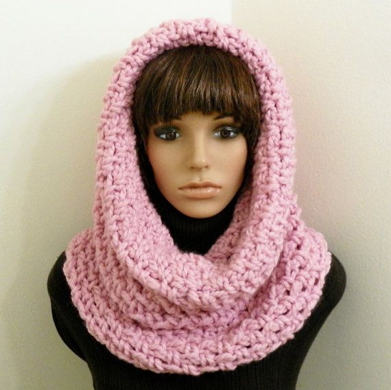 Pdf Crochet Pattern For Chunky Tunnel Cowlhood By Handmadecottage