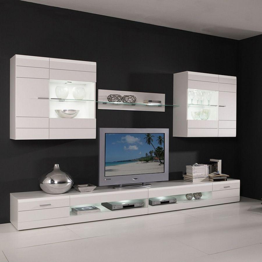 die besten 25 wohnwand hochglanz ideen auf pinterest wohnwand wei hochglanz hochglanz k che. Black Bedroom Furniture Sets. Home Design Ideas