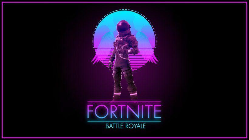 Fortnite Battle Royale Dark Voyager Video Game 7680x4320 8k