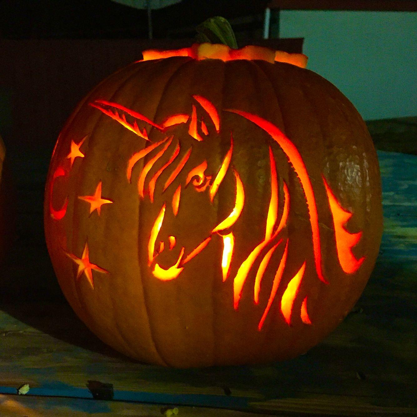 disney pumpkin carving kit. unicorn pumpkin carving disney kit