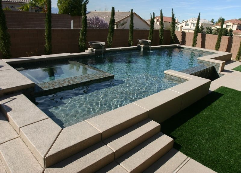 Inground Pools | Paragon Pools Las Vegas pool photos - Paragon ...