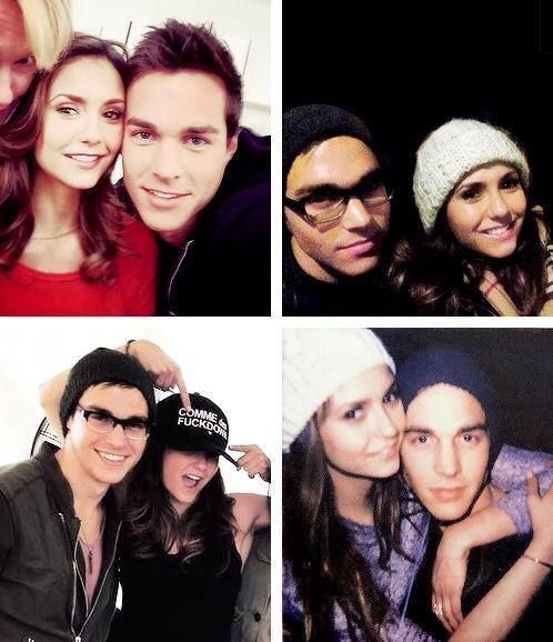 Chris wood and nina dobrev dating who