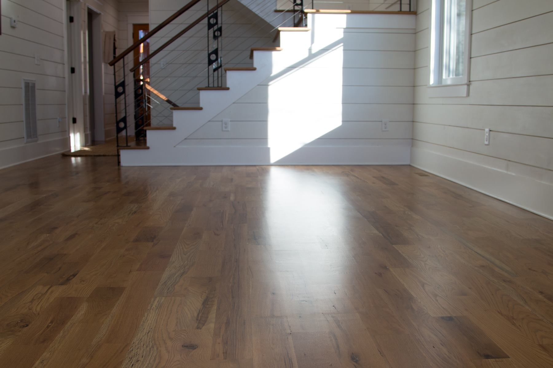 Best These White Oak Stair Treads Are Stained With Duraseal In 400 x 300