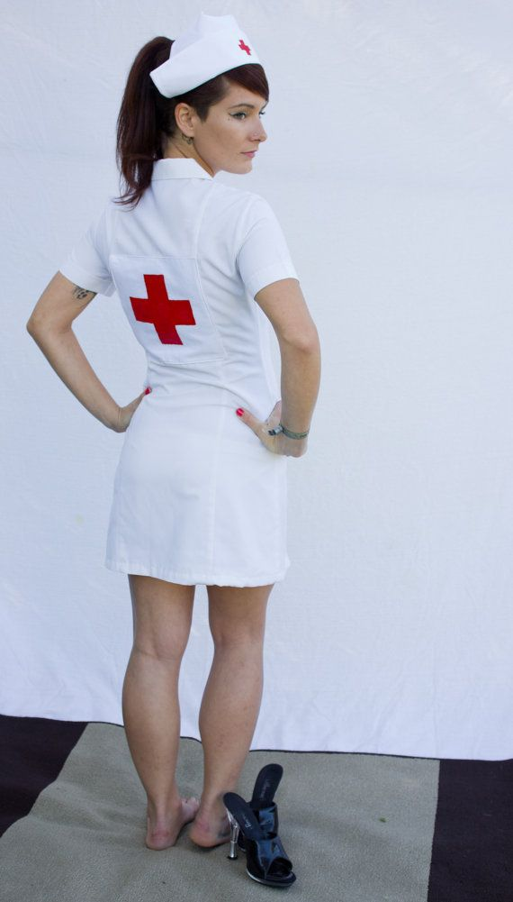 Old fashioned nurses outfit 36