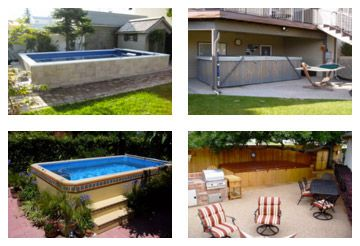 Small Garden Swimming Pools And Swim Spas Garden Swimming Pool Pool Garden Pool