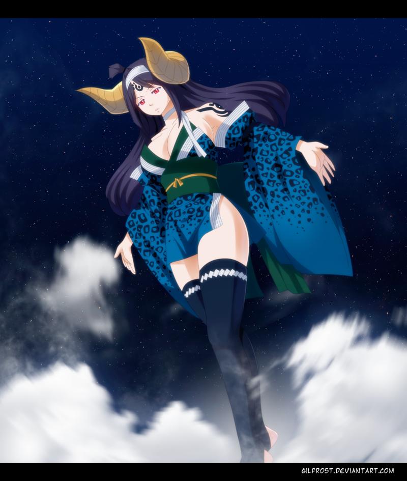Fairy Tail 456 - Mirajane Sayla by GilfrostArt on DeviantArt