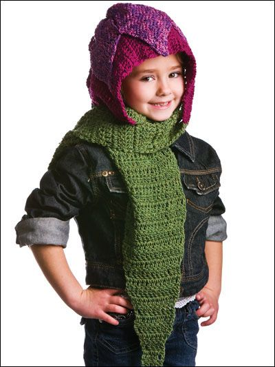 The Free Stitches Of Love Hooded Scarf Crochet Hat Pattern Reminds
