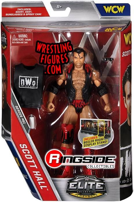 WWE SCOTT HALL WRESTLEMANIA 35 MATTEL ELITE SERIES WRESTLING ACTION FIGURE