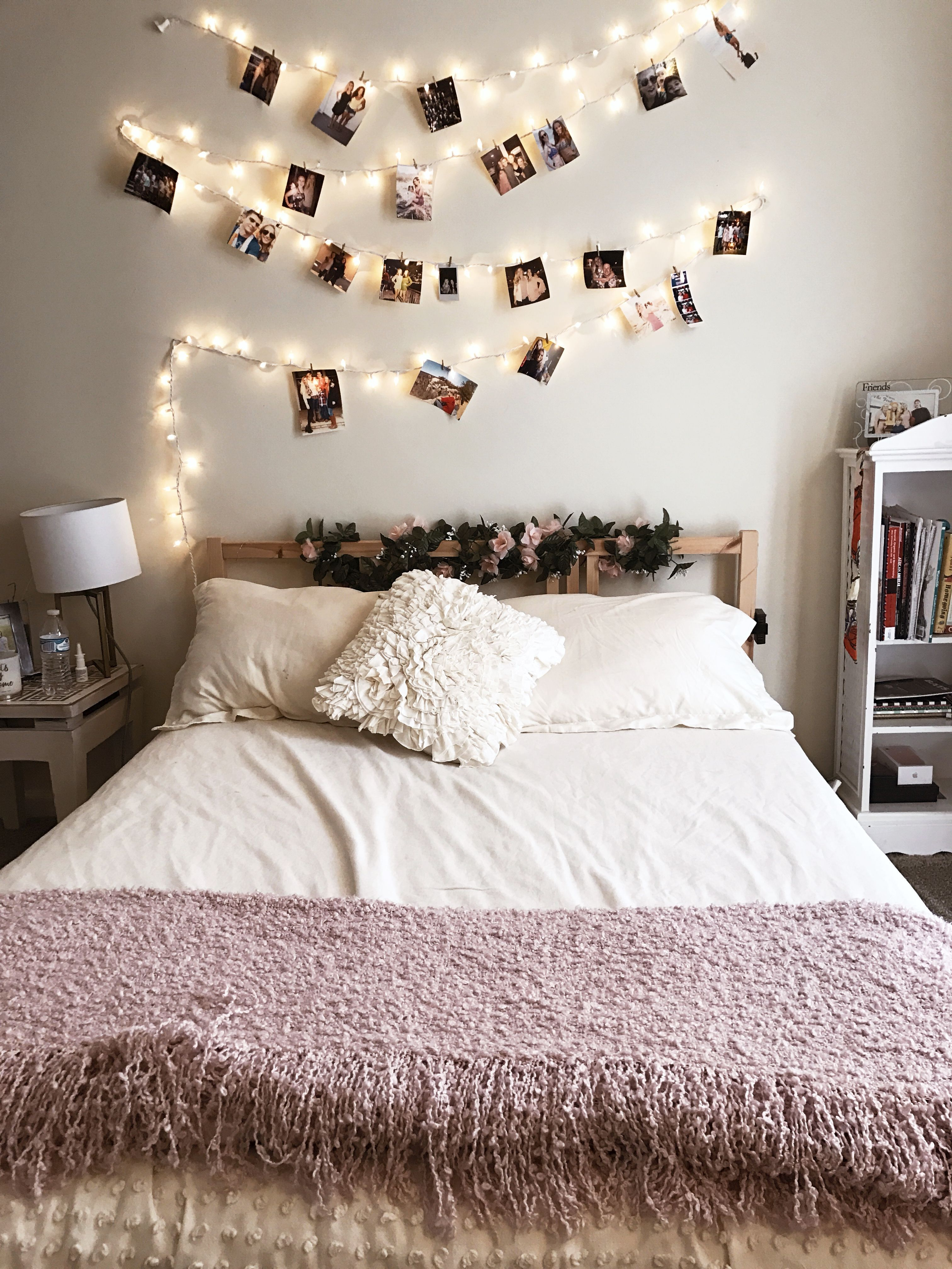 Cute Lights And Bedroom Bedding Urban
