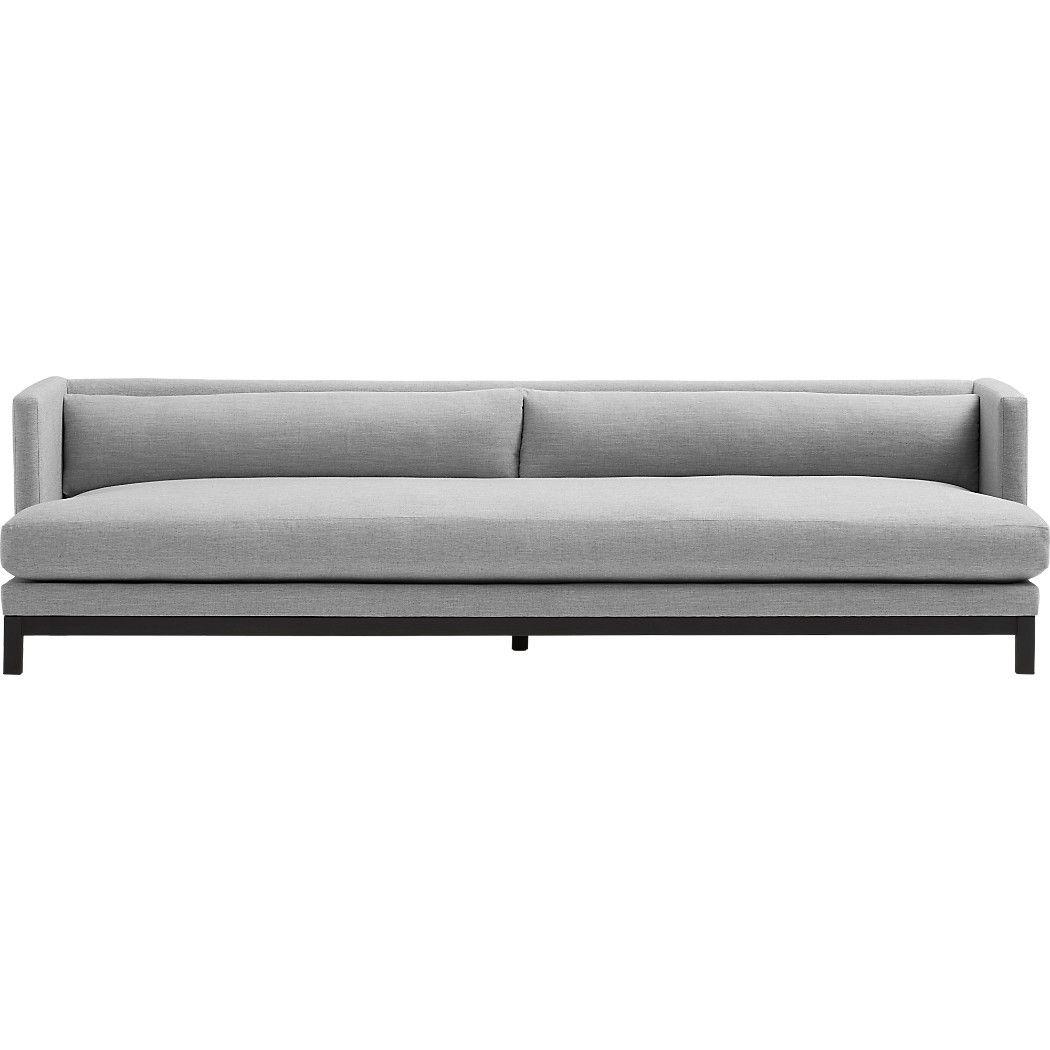 Low Back Sofa Shop Brava Long Sofa Minimal Yet Cushy Sleek Yet