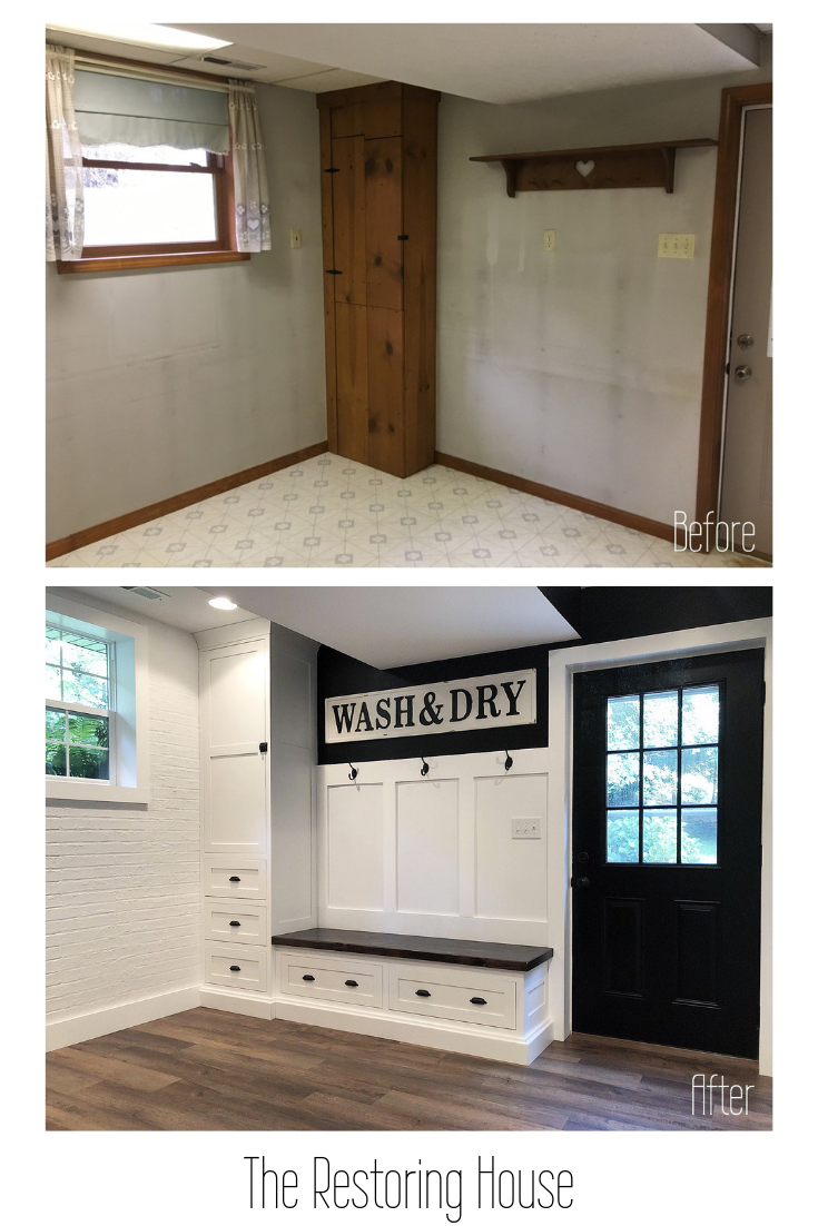 The Connector House   mudroom    Home Renovation, Home