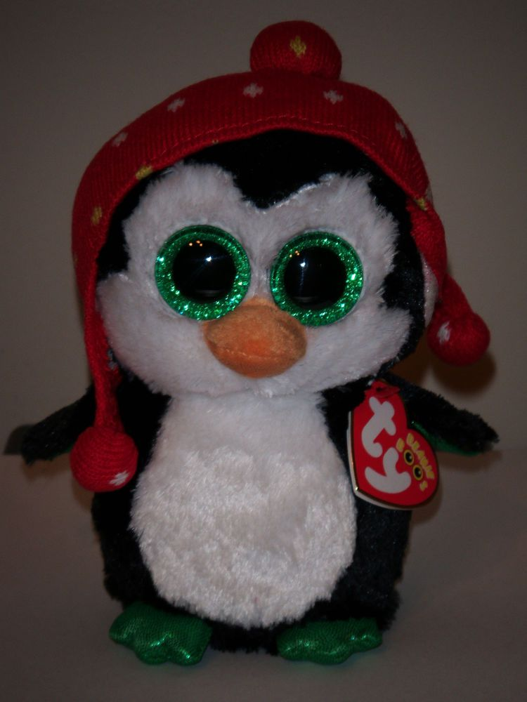 "TY FREEZE PENGUIN 6/"" BEANIE BOOS-NEW w// TAG ** SUPER CUTE**IN HAND**SHIP NOW"