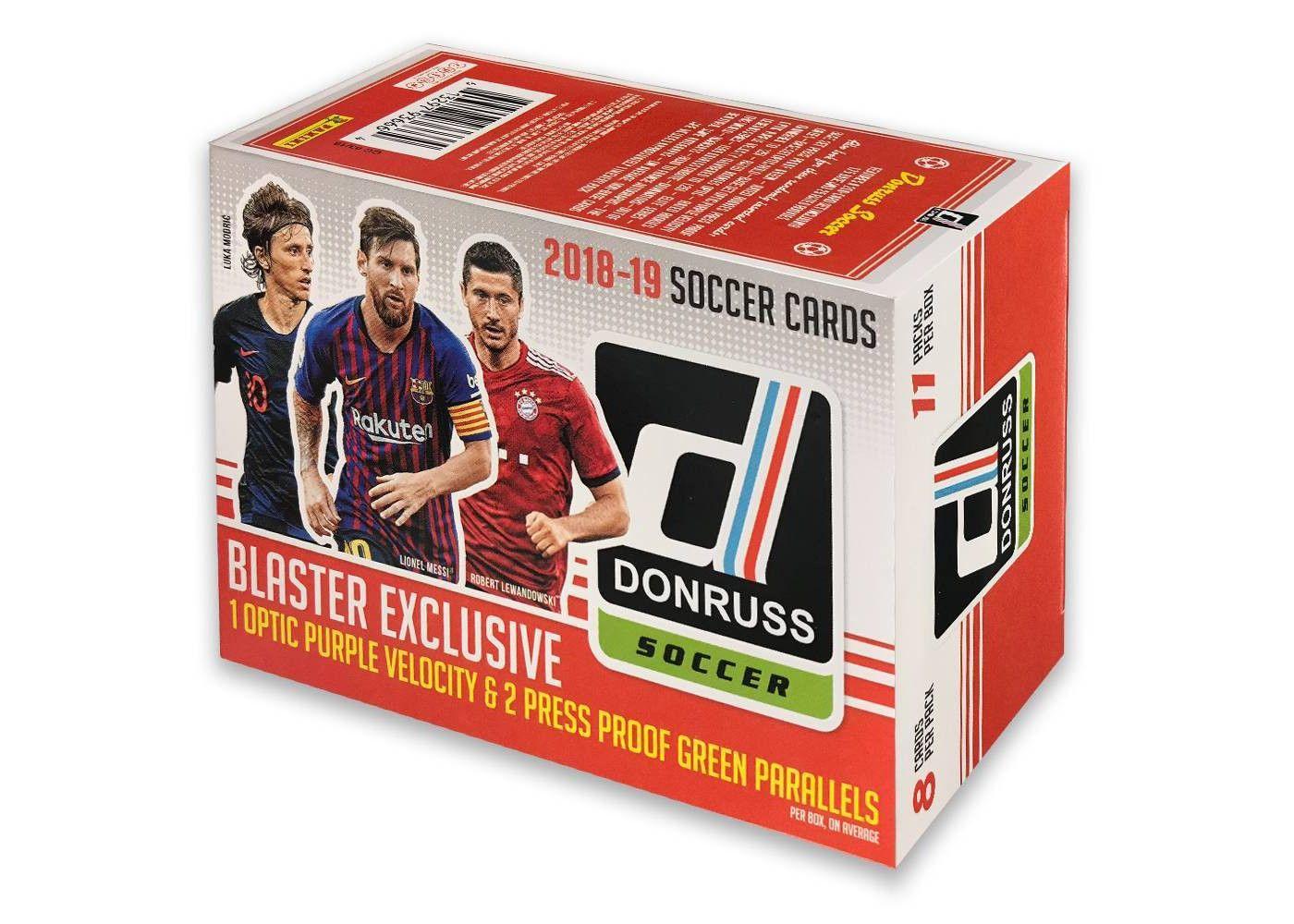 2018 19 Excell Donruss Soccer Trading Card Blaster Box Affiliate Excell Ad Donruss Soccer Soccer Cards Trading Cards Soccer