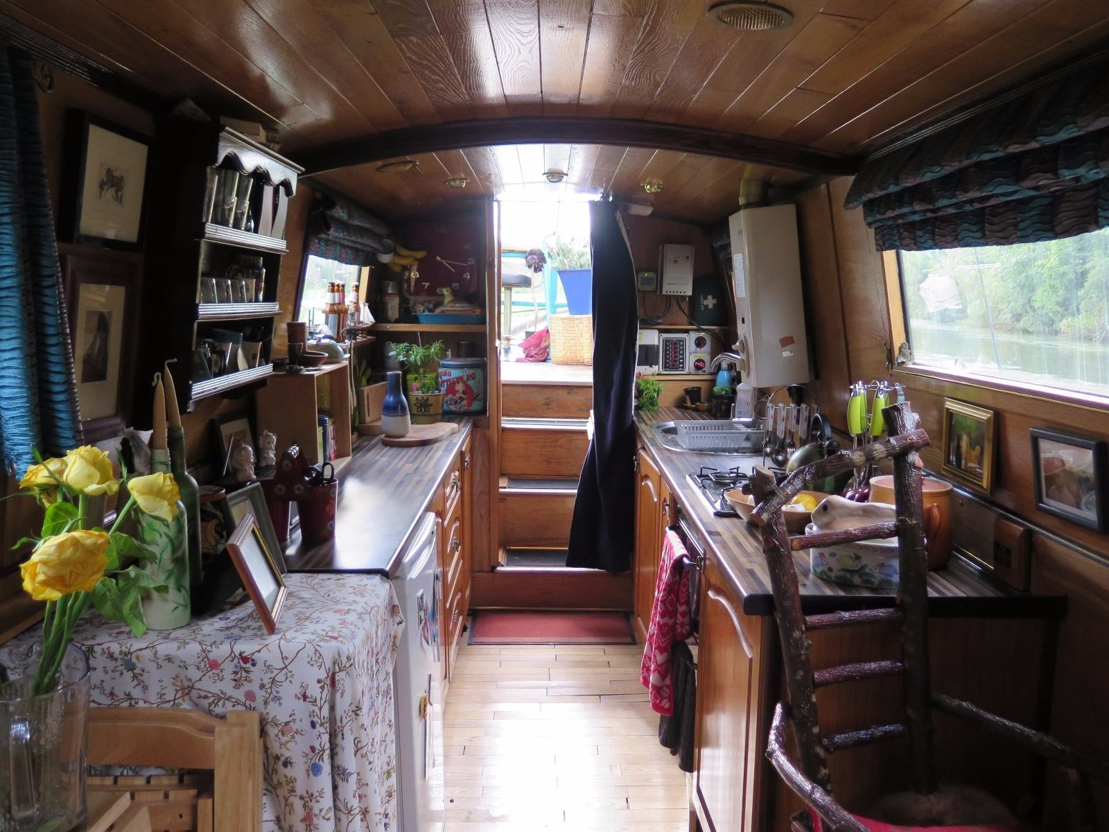 50ft narrowboat houseboat canal boat perfect liveaboard