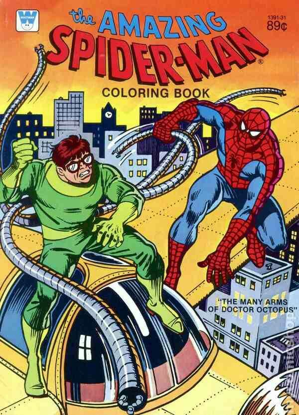 The Many Arms Of Doctor Octopus Color Book Octopus Coloring Page Superhero Coloring Pages Coloring Books