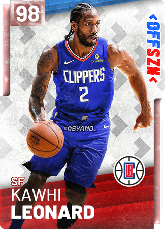 3 Kawhi Leonard Nba 2k19 Custom Card 2kmtcentral Sports Basketball Basketball Custom Basketball