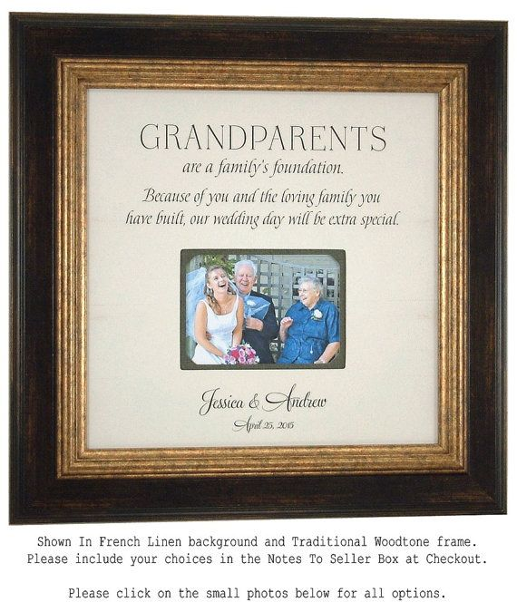 Gifts For Grandparents 50th Wedding Anniversary: Then And Now Picture Frame, 50th Anniversary Gift, Gold