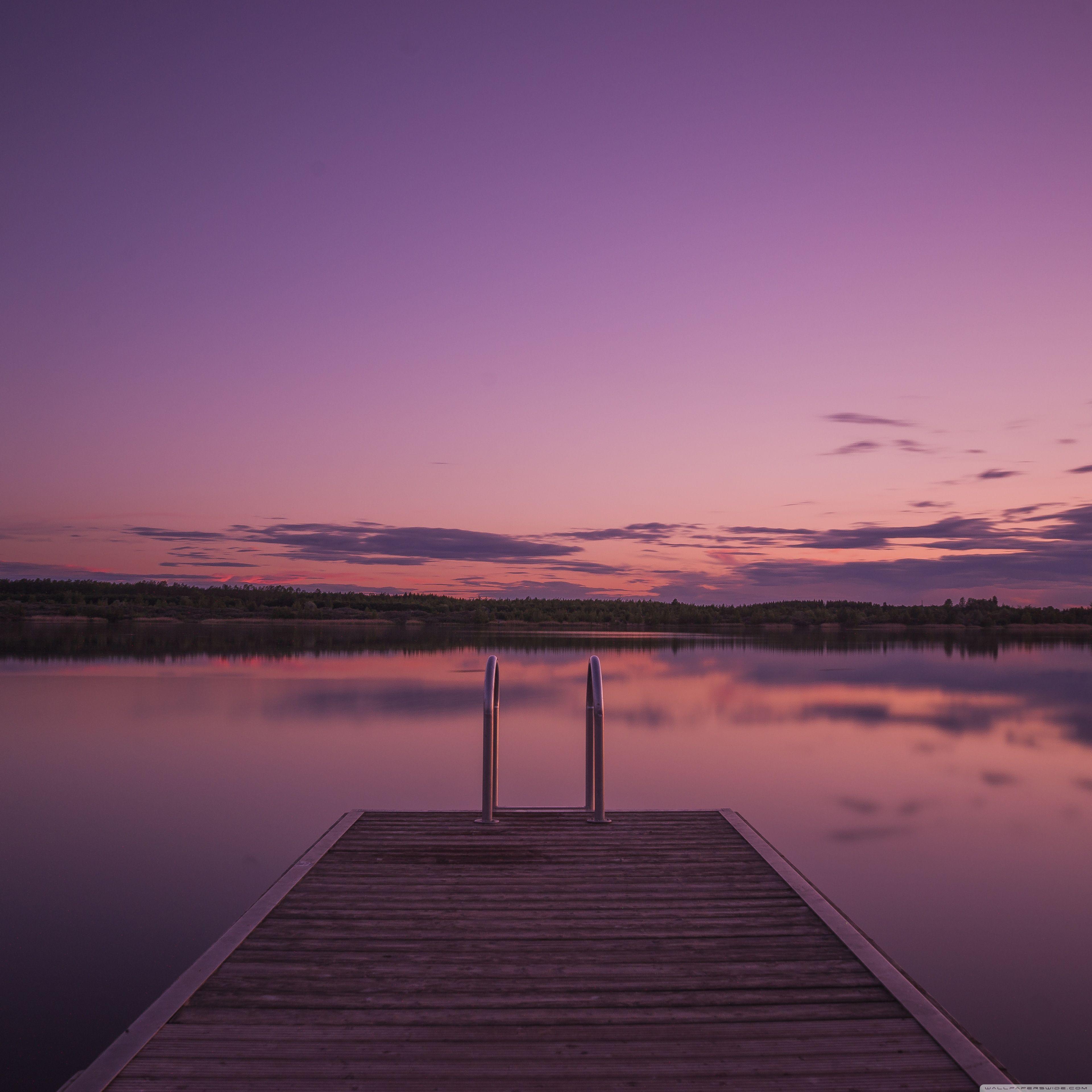 Pin By That Guy On Wild Places Purple Sunset Landscape Wallpaper Desktop Wallpaper