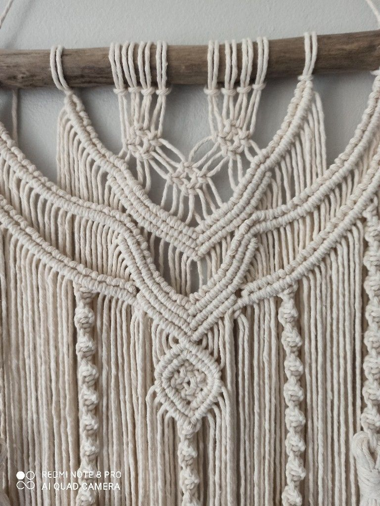 Makrama Na Sciane Zawieszka Dekoracja Boho Kup Teraz Za 55 00 Zl Legnica Allegro Lokalnie Crochet Bikini Crochet Top Crochet