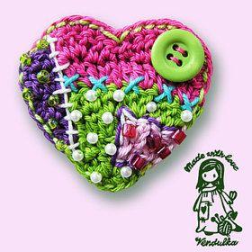 Colorful crochet pattern designs von VendulkaM auf Etsy
