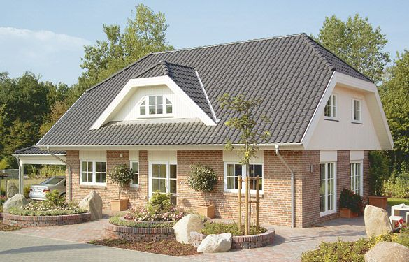 Gl cksburg h user und grundrisse fertighaus und for Mini bungalow fertighaus