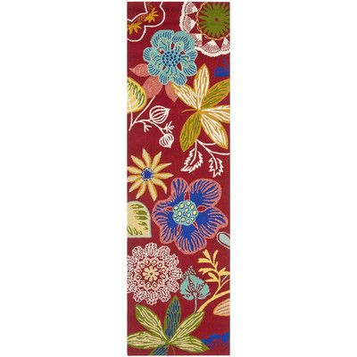 Ebern Designs Hayes Floral Indoor Outdoor Area Rug Rug Size Runner