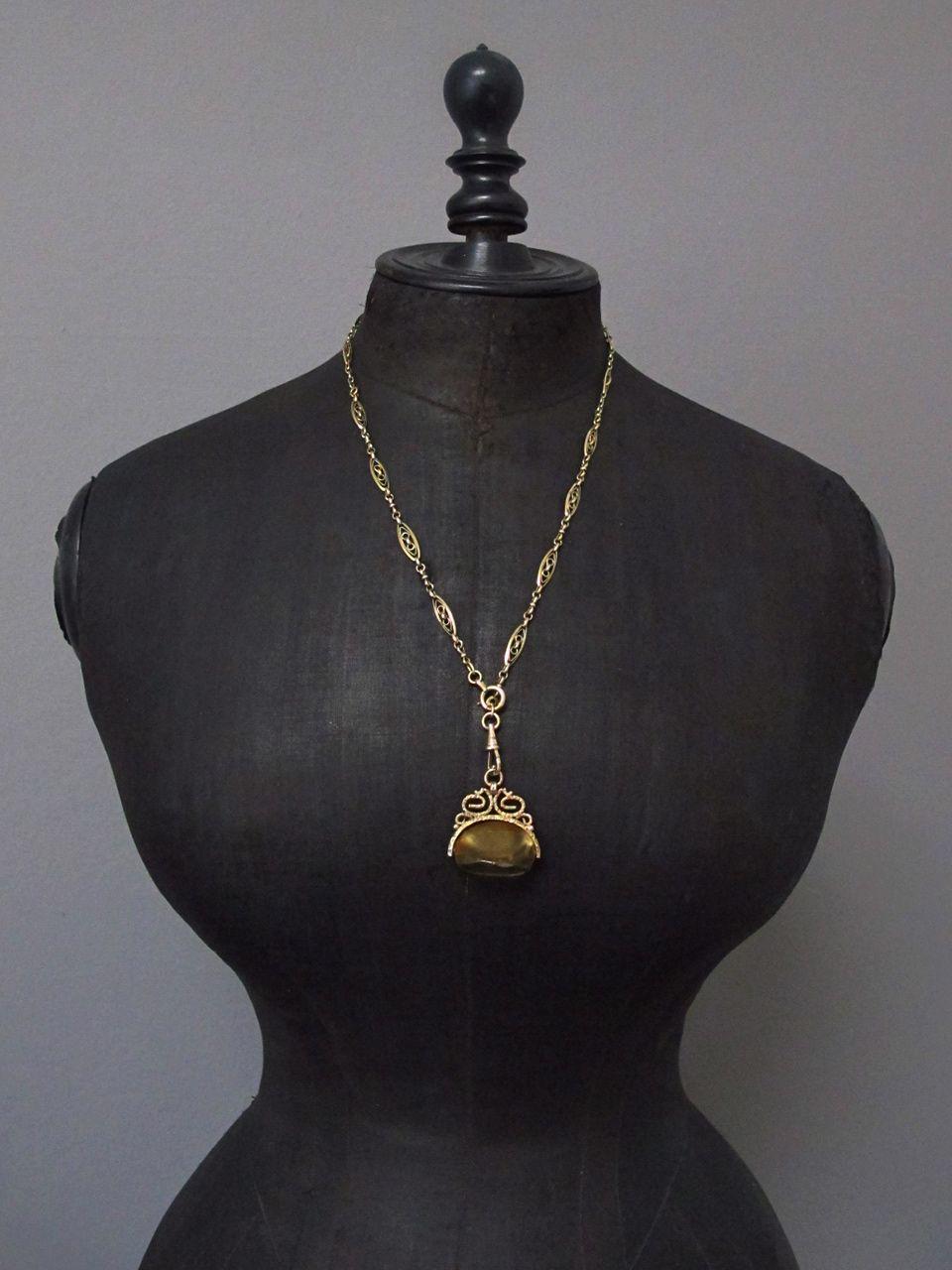 antique chaîne de montre gousset arranger