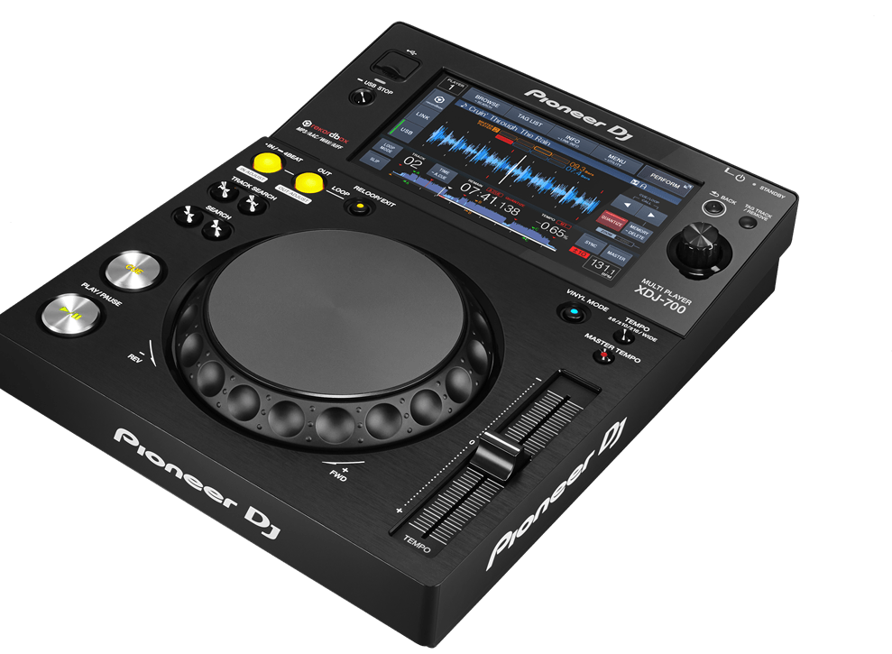 The XDJ-700 offers DJs and venues unparalleled set-up possibilities. Its compact size and removable stand means it's perfect for even the smallest booth or home set-up. It's the first player …