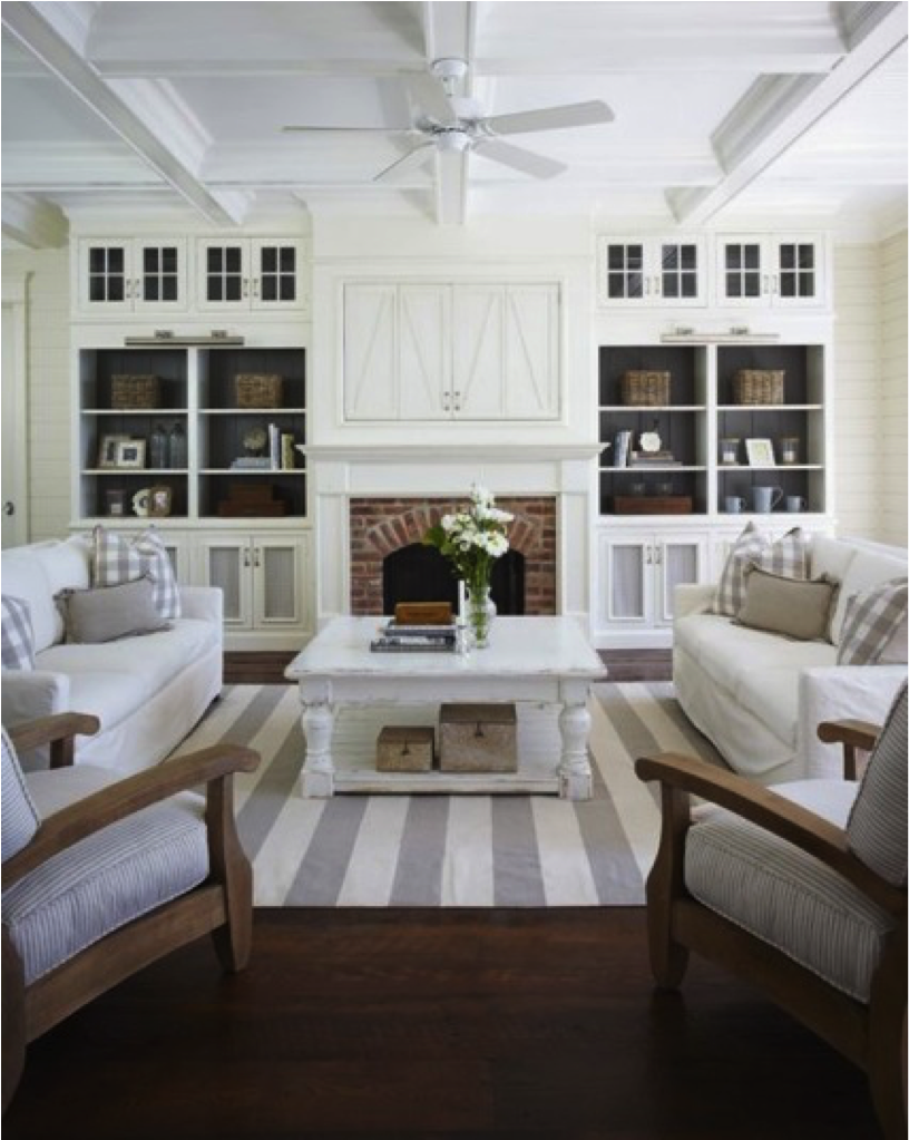 Modern Farmhouse Family Room.Modern Farmhouse Family Room And Kitchen Reveal Living
