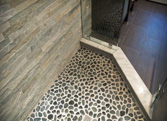 Diy Pebble Shower Floor ...
