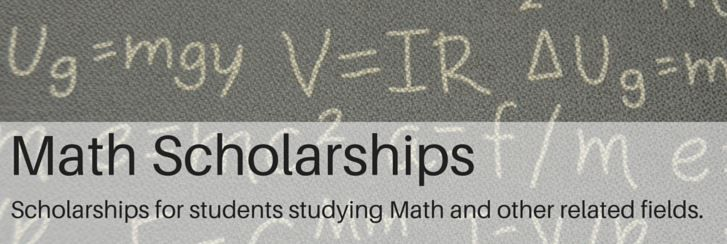Math Scholarships for USA Citizens Scholarships