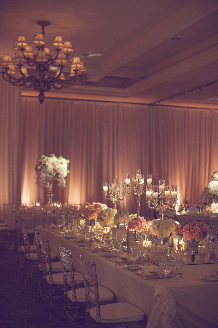 Wedding Reception Wall Draping | Reception, Centerpieces ...