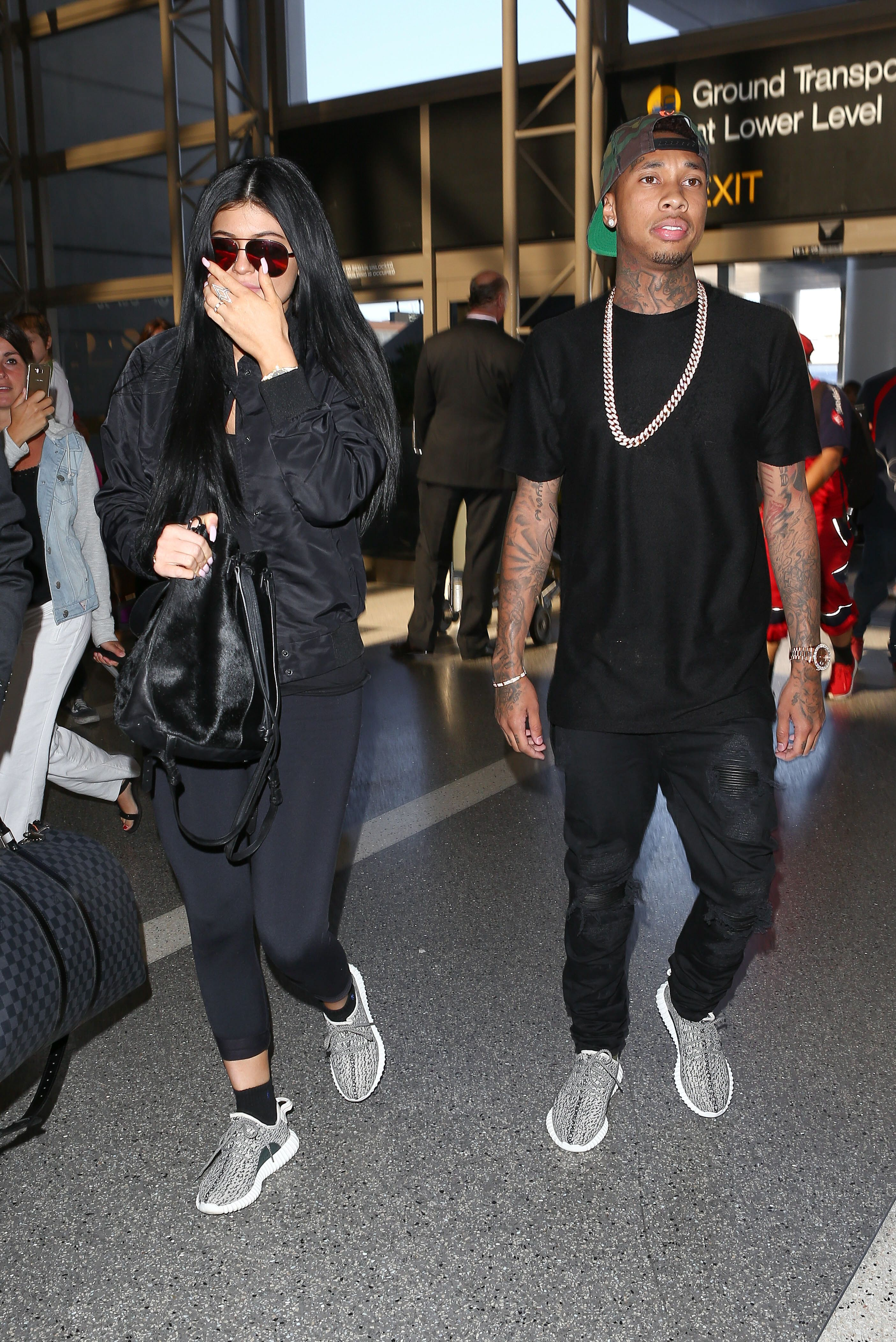 Au Revoir! Watch Kylie Jenner And Tyga Jet Off To France