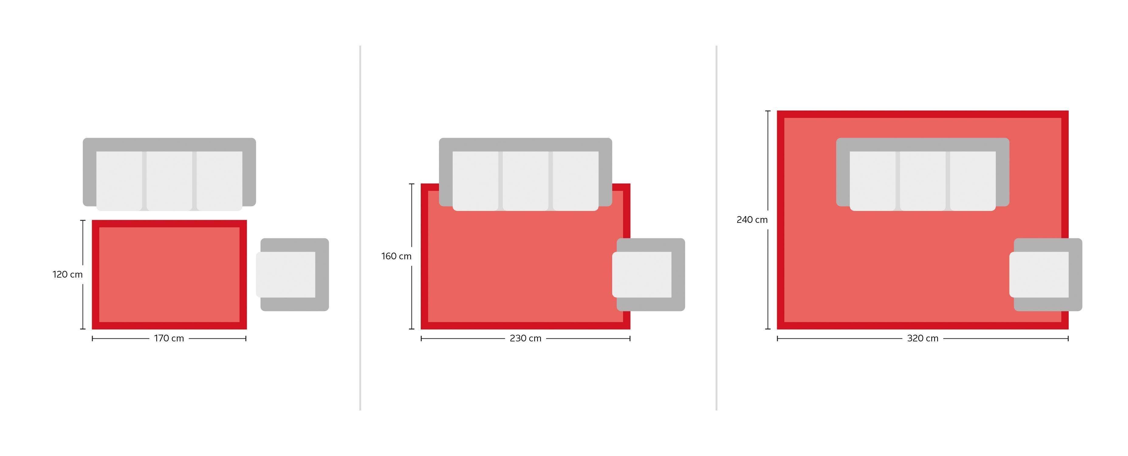 Oci Die Teppichmarke Wollteppich Excellent Vario55 90x160 cm fussbodenheizungsgeeignet 20 mm Gesamthöhe beige