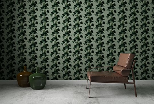 Palm Fever Wallpaper Collection designed by Claire Kelly exclusively for Mockbee & Company