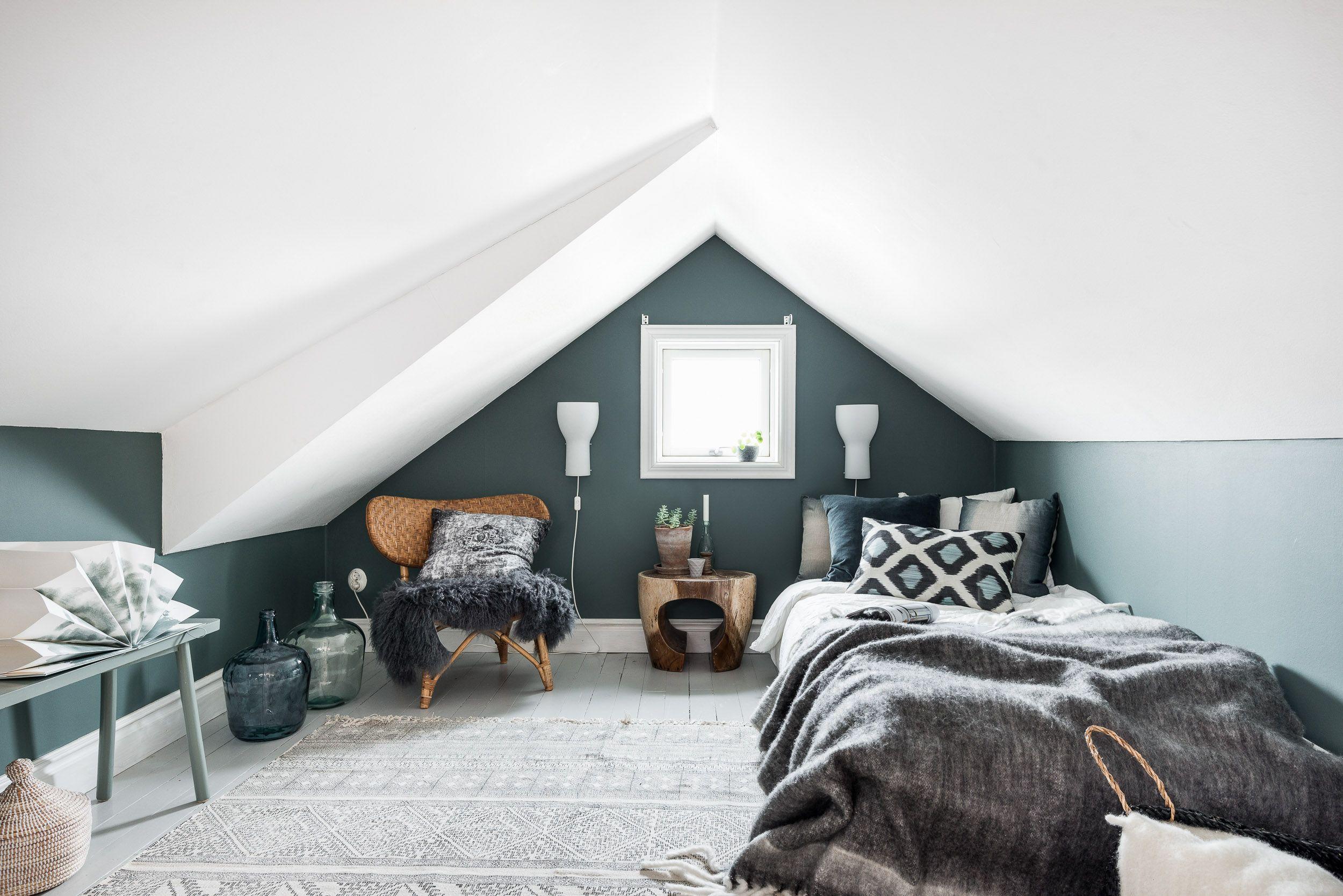 Loft bedroom design ideas  Lundin Fastighetsbyrå  Björkedalsgatan  Ekebäck Göteborg