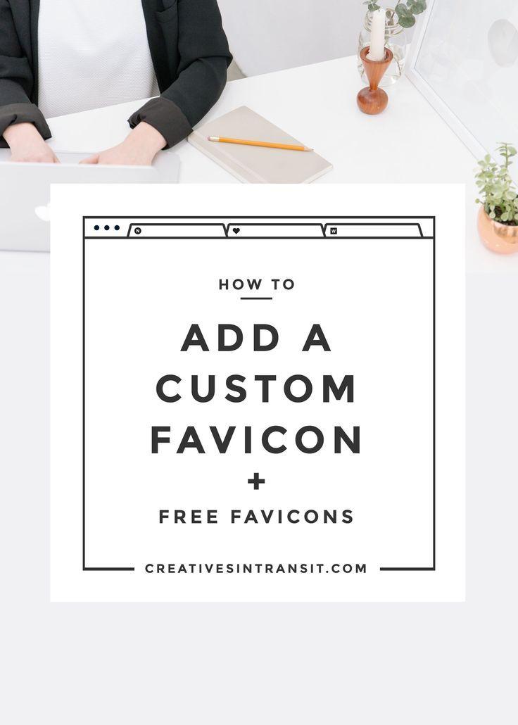 How to Add a Custom Favicon + Free Favicon Templates!   Wordpress ...