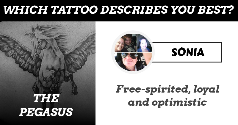 Which Tattoo describes You best based on your Personality?