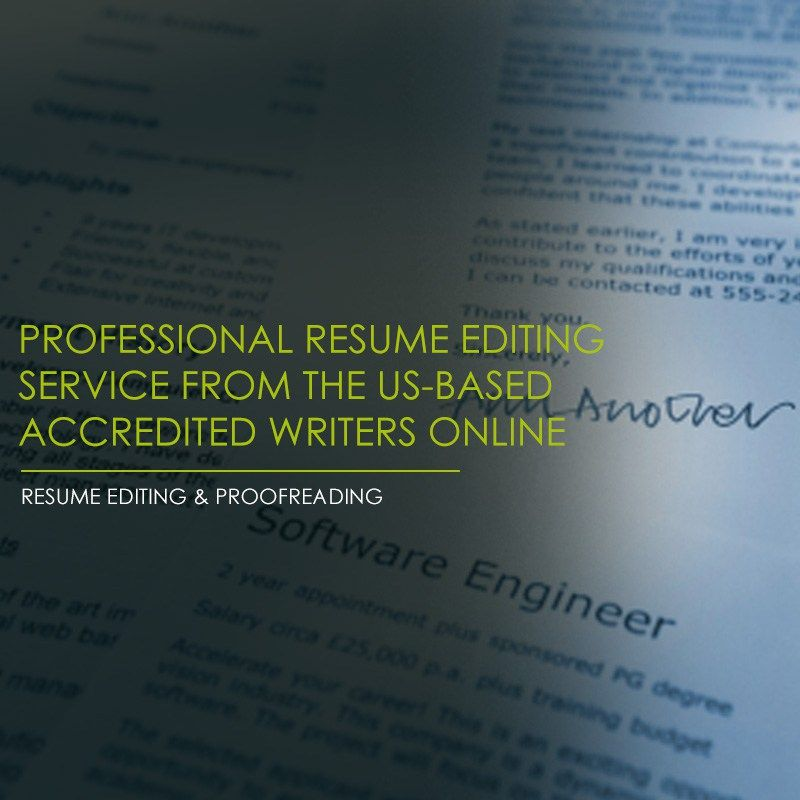 ResumePundits Resume Editing can help you refine and polish a - resume editing