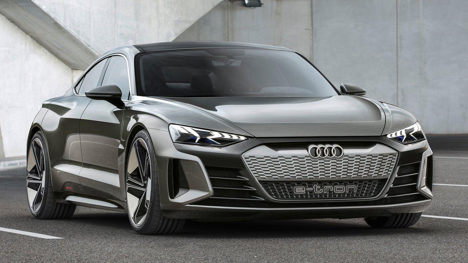 New Audi E Tron Gt Concept Audi E Tron E Tron Audi Cars